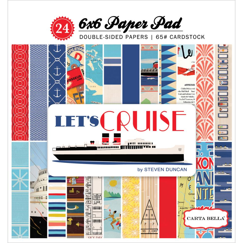 Carta Bella - Let's Cruise Collection - 6x6 Paper Pad