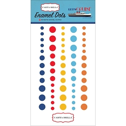 Carta Bella - Let's Cruise Collection - Enamel Dots