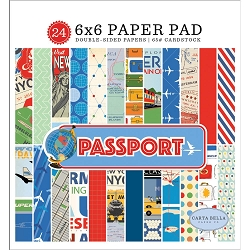 Carta Bella - Passport Collection - 6x6 Paper Pad