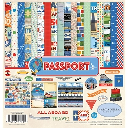 Carta Bella - Passport Collection - Collection Kit