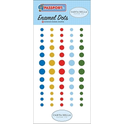 Carta Bella - Passport Collection - Enamel Dots