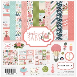 Carta Bella - Rock-a-Bye Baby Girl Collection - Collection Kit