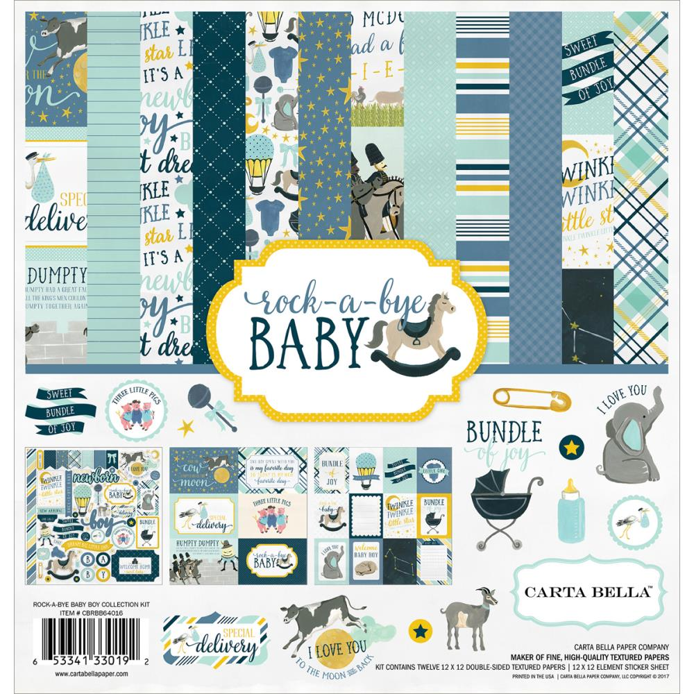 Rock-a-Bye Baby Boy Collection