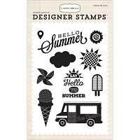 Carta Bella - Soak Up The Sun Collection - 4x6 Clear Stamp