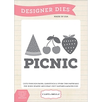 Carta Bella - Soak Up The Sun Collection - Picnic Die