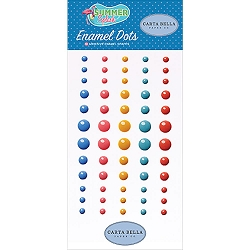 Carta Bella - Summer Splash Collection - Enamel Dots