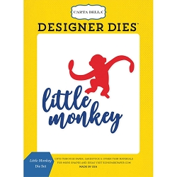 Carta Bella - Toy Box Collection - Little Monkey Die Set