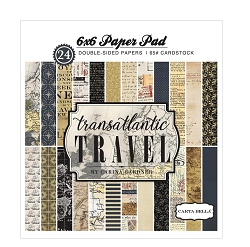 Carta Bella - Transatlantic Travel Collection - 6x6 Paper Pad