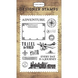 Carta Bella - Transatlantic Travel Collection - Travel The World Clear Stamp