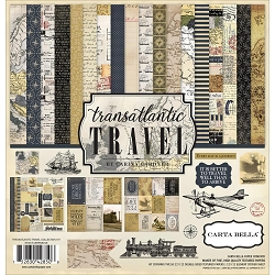 Carta Bella - Transatlantic Travel Collection - Collection Kit