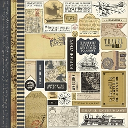 Carta Bella - Transatlantic Travel Collection - 12