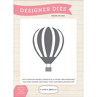 Carta Bella - Travel Stories Collection - Up Up and Away Balloon Die
