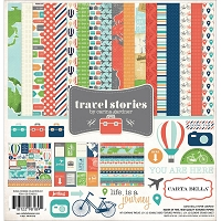 Carta Bella - Travel Stories Collection - Collection Kit :)