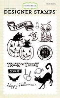 Carta Bella - Trick or Treat Collection - Trick Or Treat Stamp :)