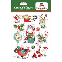 Carta Bella - A Very Merry Christmas Collection - Enamel Shapes