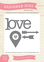 Carta Bella - Words of Love Collection - Love Die Set