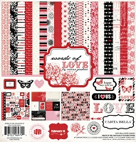 Carta Bella - Words of Love Collection - Collection Kit :)