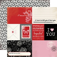 Carta Bella - Words of Love Collection - 12