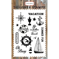 Carta Bella - Yacht Club Collection - Sea Breeze Clear Stamp