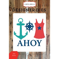 Carta Bella - Yacht Club Collection - Ahoy dies
