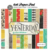 Carta Bella - Yesterday Collection - 6x6 Paper Pad