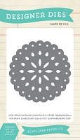 Carta Bella - Yesterday Collection - Small Doily Die