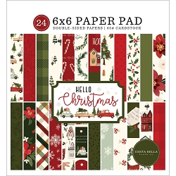 Carta Bella - Hello Christmas Collection - 6x6 Paper Pad