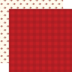 Carta Bella - Hello Christmas Collection - Red Plaid 12