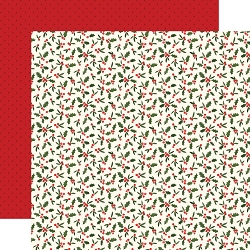 Carta Bella - Hello Christmas Collection - Holly Berries 12