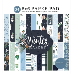 Carta Bella - Winter Market Collection - 6x6 Paper Pad