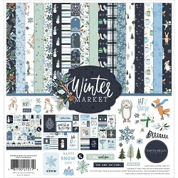 Carta Bella - Winter Market Collection - Collection Kit