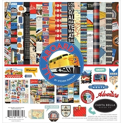 Carta Bella - All Aboard Collection - Collection Kit
