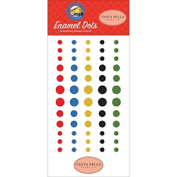Carta Bella - All Aboard Collection - Enamel Dots