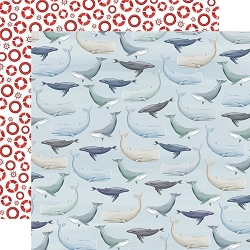 Carta Bella - By The Sea Collection - Whales 12