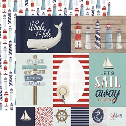 Carta Bella - By The Sea Collection - Journaling Cards 12