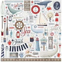 Carta Bella - By The Sea Collection - 12