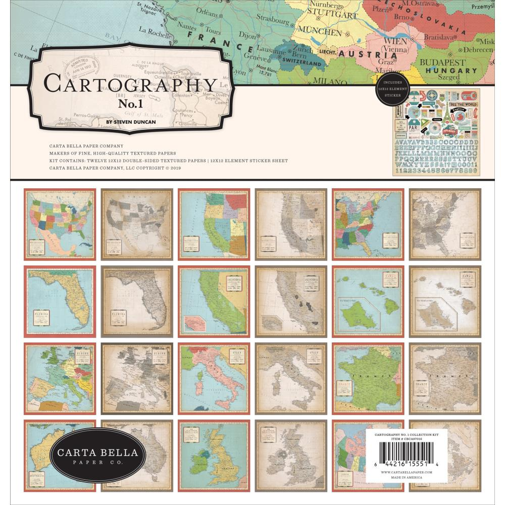Cartography No.1 Collection