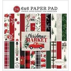 Carta Bella - Christmas Market Collection - 6x6 Paper Pad
