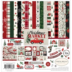 Carta Bella - Christmas Market Collection - Collection Kit