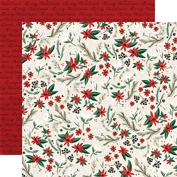 Carta Bella - Christmas Market Collection - Holiday Floral 12