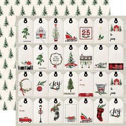 Carta Bella - Christmas Market Collection - Gift Tags 12