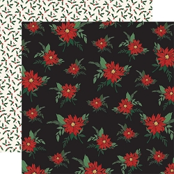 Carta Bella - Christmas Market Collection - Poinsettias 12