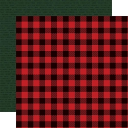 Carta Bella - Christmas Market Collection - Buffalo Plaid 12