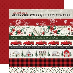 Carta Bella - Christmas Market Collection - Border Strips 12