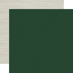 Carta Bella - Christmas Market Collection - Dark Green/Woodgrain 12