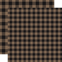 Carta Bella - Buffalo Plaid Collection - Tan Buffalo Plaid 12