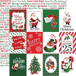 Carta Bella - Dear Santa Collection - 3