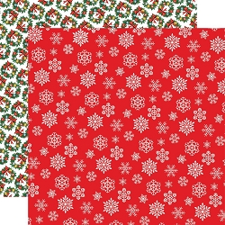 Carta Bella - Dear Santa Collection - Snowflakes 12