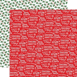Carta Bella - Dear Santa Collection - Happy Holidays 12