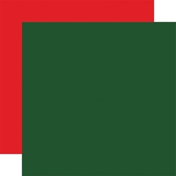 Carta Bella - Dear Santa Collection - Dark Green/Red 12